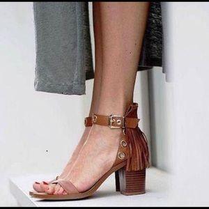 Zara fringe sandel
